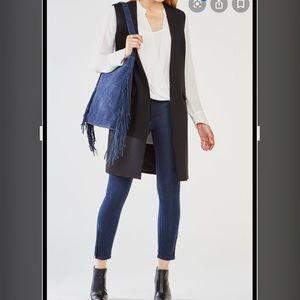 Bcbgmaxazria long vest.Black.NWT Fits like a small